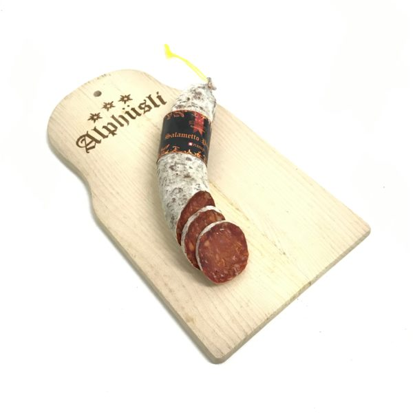 Alphüsli-Wurst-Salametto