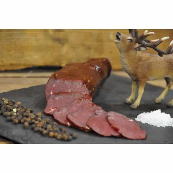 Alphüsli-Trockenfleisch-Hirschmostbröckli